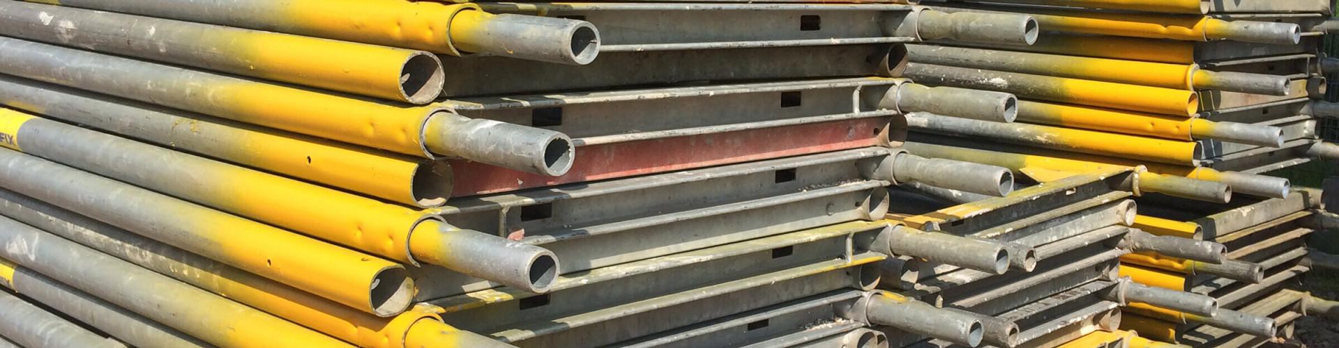 Material & Logistik bei Gerüstbau Peters